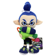 "Inkling Boy - Splatoon 9"" Plush (Little Buddy) 1468"