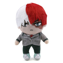 "Todoroki in School Uniform - My Hero Academia 8"" Plush"