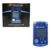 Dreamcast Official Memory Card Visual Memory Unit VMU Blue (Sega)