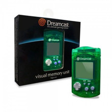 Dreamcast Official Memory Card Visual Memory Unit VMU Green (Sega)
