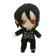"Sebastian Michaelis - Black Butler 10"" Plush"