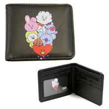 "Group - BT21 4x5"" BiFold Wallet"