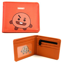 "Shooky - BT21 4x5"" BiFold Wallet"
