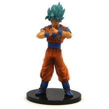 "Super Saiyan God Goku - DragonBall Z 7"" Action Art Figure"