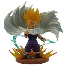 "Super Saiyan Teen Son Gohan Cape - DragonBall Z 6"" Art Figure"