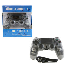PS4 Wireless OG Controller Pad - Clear (Hexir)