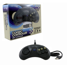 Genesis RetroPad 6-button USB Controller (RetroLink) RB-PC-7017
