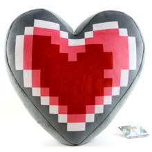 "Heart Container - The Legend of Zelda 15"" Plush Pillow (San-Ei) 1668"