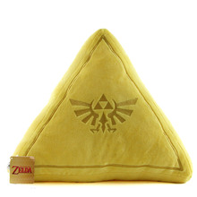 "Triforce - The Legend of Zelda 15"" Plush Pillow (San-Ei) 1381"