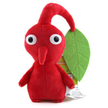 "Red Leaf - Pikmin 7"" Plush (San-Ei) 1647"