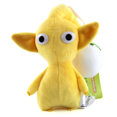 "Yellow Bud - Pikmin 7"" Plush (San-Ei) 1649"