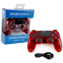 PS4 Wireless OG Controller Pad - Clear Red (Hexir)