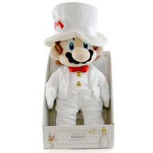 "Mario Groom - Super Mario Bros 16"" Plush (San-Ei) 1691"