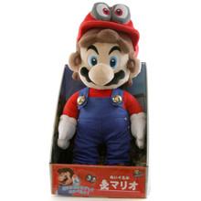 """Mario Odyssey - Super Mario Bros 16"""" Plush (San-Ei) 1693"""