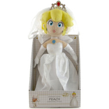 "Peach Bride - Super Mario Bros 16"" Plush (San-Ei) 1692"