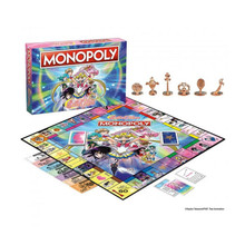 Sailor Moon Monopoly Board Game (USAopoly) MN113-586