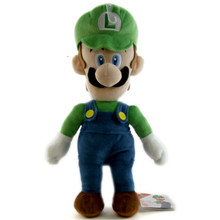 "Luigi - Super Mario Bros 15"" Plush (San-Ei) 1584"