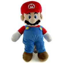 "Mario - Super Mario Bros 24"" Plush (San-Ei) 1601"