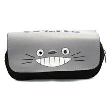 Totoro Smile - My Neighbor Totoro Clutch Grey Wallet