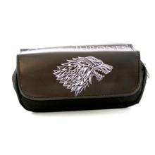 House Stark - Game of Thrones Black Clutch Wallet