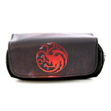 House Targaryen - Game of Thrones Black Clutch Wallet