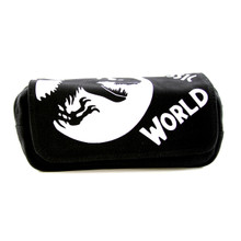 T-Rex Logo - Jurassic World Black Clutch Wallet