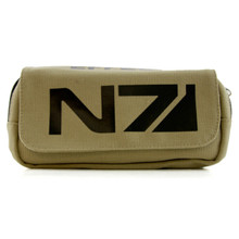 N7 Logo - Mass Effect Tan Wallet