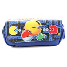 Pac-Man Characters - Pac-Man Black Clutch Wallet