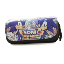 Sonic Generations- Sonic The Hedgehog Clutch Black Wallet