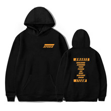 8 Makes 1 Team - Large Ateez Motto Hoodie
