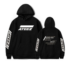 Group Members - Extra Large Ateez Motto Hoodie