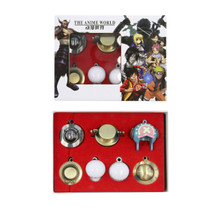 Hats Set - One Piece 7 Pcs. Pendant & Keychain Set