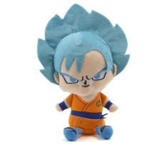 "Super Saiyan Goku Blue - Dragon Ball Z 7"" Plush"