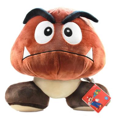 "Goomba - Super Mario Bros 12"" Plush (San-Ei) 1245"