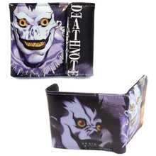 """Ryuk - Death Note 4x5"""" BiFold Wallet With Flap"""