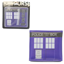 "Tardis -Doctor Who 4x5"" BiFold Wallet With Flap"