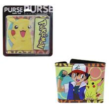 "Pikachu - Pokemon 4x5"" BiFold Wallet With Flap"