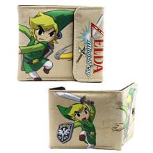 """Minish Cap Link - Legend of Zelda 4x5"""" BiFold Wallet With Flap"""