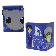 "Yuki - Fruits Basket 4x5"" TriFold Wallet"