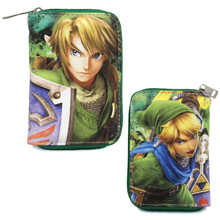 "Twilight Princess Link - The Legend of Zelda 3x5"" Zipped Wallet"