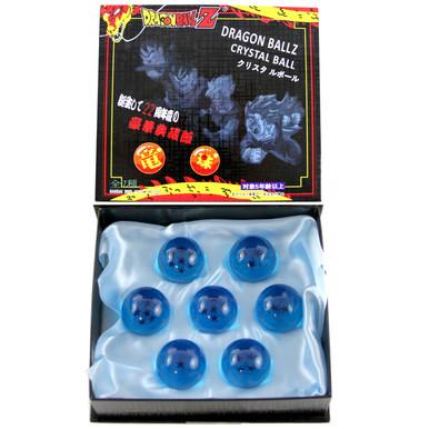 "Blue Dragon Balls - DragonBall Z 1.5"" Props 7 Pcs. Set"