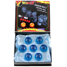 "Blue Dragon Balls - DragonBall Z 1.5"" Props 7 Pcs. Set"
