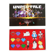 Undertale Hearts - Undertale 14 Pcs. Pendant & Keychain Set