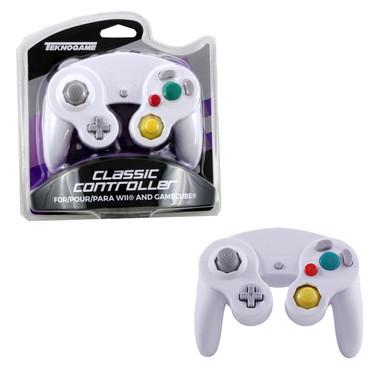 Gamecube Rumble Analog Controller Pad - White (Teknogame)