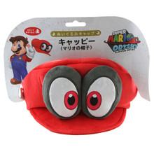 """Cappy (Mario's Cap) - Super Mario Bros 9"""" Plush (San-Ei) 1659"""