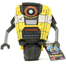 "Claptrap - Borderlands 6"" Plush (Stubbins) BD-PL-001"