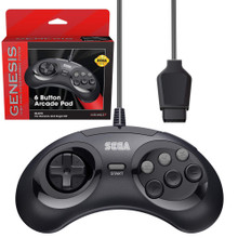 Sega Genesis/Sega CD 6-button Controller Pad (Retro-Bit) RB-SGA-001