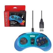 Sega Genesis 8-button USB Controller Pad (Retro-Bit) RB-SGA-004