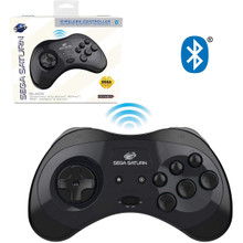 Sega Saturn wireless Controller Pad Black (Retro-Bit) RB-SGA-029