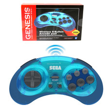 Sega Genesis 8-button wireless Controller Pad (Retro-Bit) RB-SGA-0012